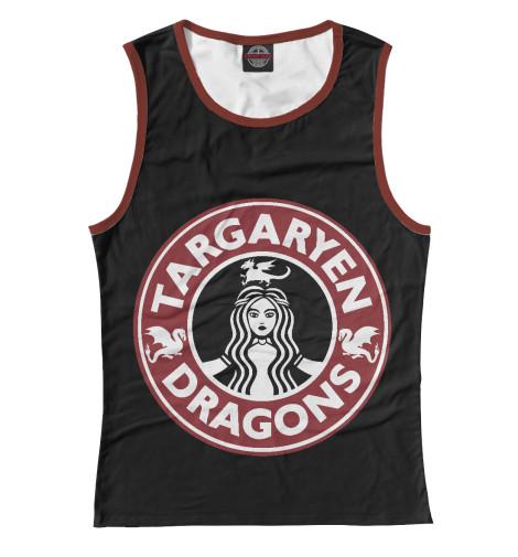 где купить Майка Print Bar Targaryen Dragons дешево