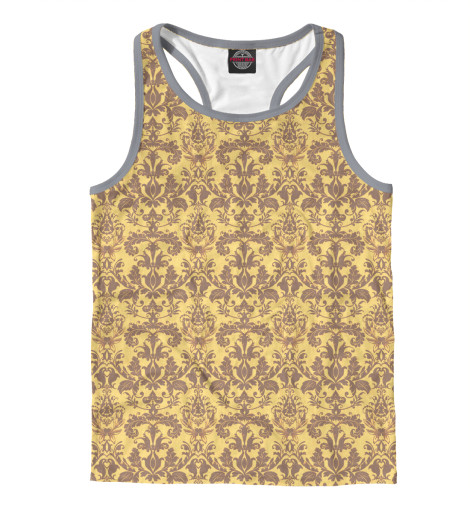 Майка борцовка Print Bar Damask - Banana свитшот print bar damask banana