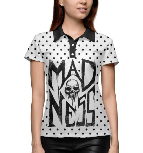 Поло Print Bar Madness max djeen september anatomy of madness