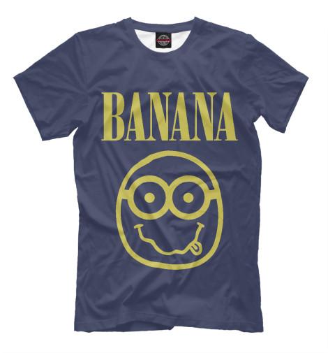 Футболка Print Bar Banana Nerd футболка print bar damask banana