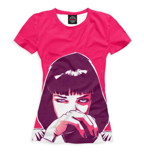 Женская футболка Миа Уоллес
