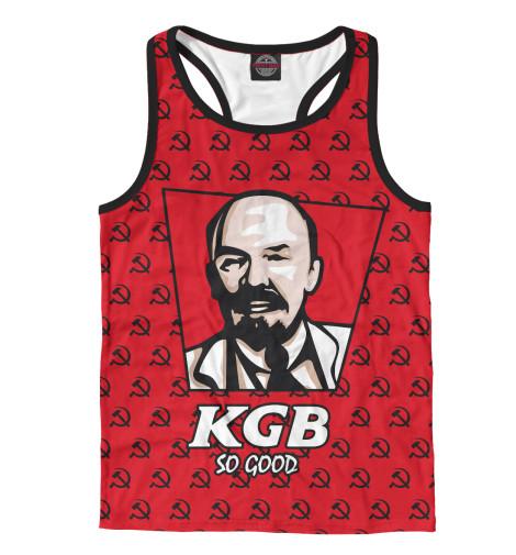 Майка борцовка Print Bar KGB So Good