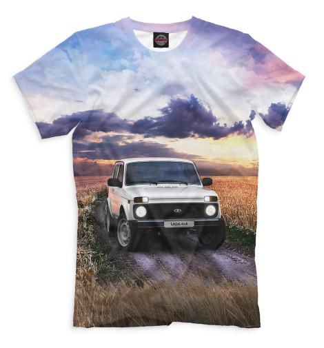 Мужская футболка LADA 4x4