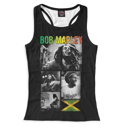 Женская майка-борцовка Bob Marley