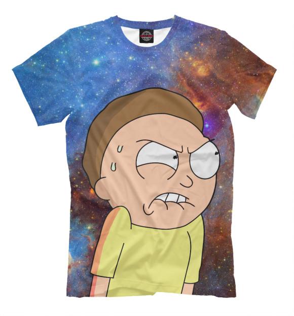 Мужская футболка Морти RNM-483513-fut-2  - купить со скидкой