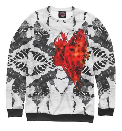 Свитшот Print Bar My burning heart