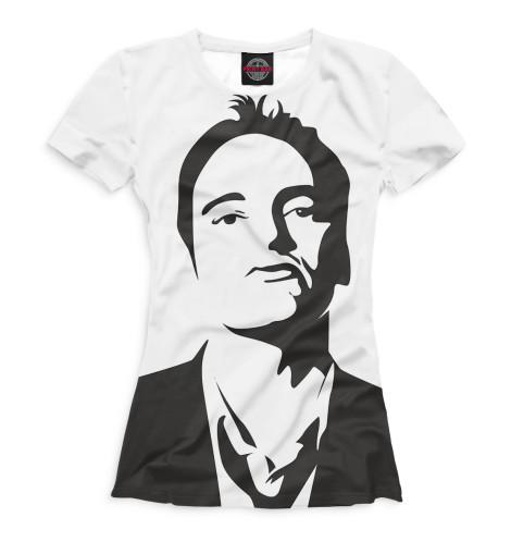 Женская футболка Квентин Тарантино