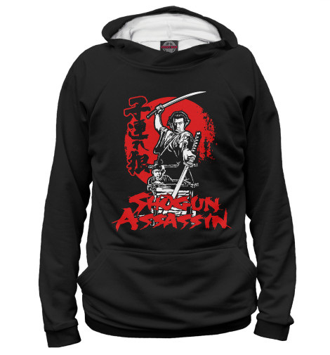 Худи Print Bar Shogun Assassin свитшот print bar assassin spirit