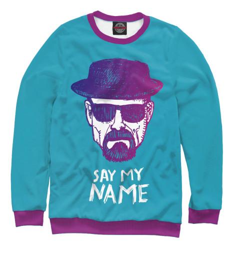 Купить Свитшот для девочек Say my Name VVT-315350-swi-1