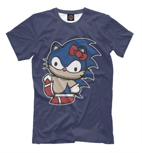 Футболка Print Bar Kitty Sonic футболка классическая printio sonic unleashed
