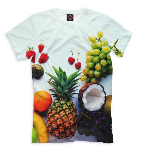 Мужская футболка Фрукты