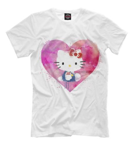 Футболка Print Bar Hello Kitty набор для плавания hello kitty hey32623 очки шапочка