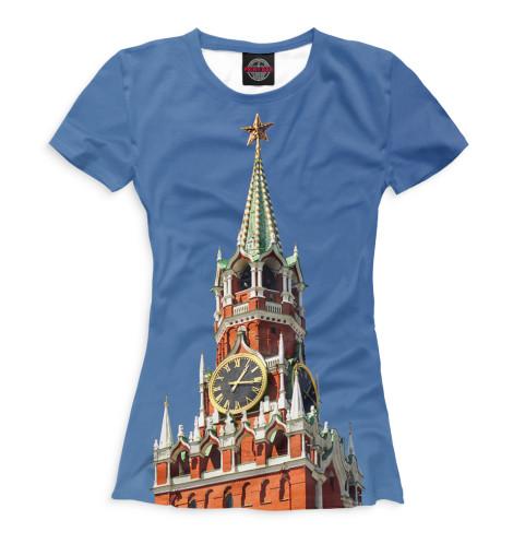 Женская футболка Спасская башня