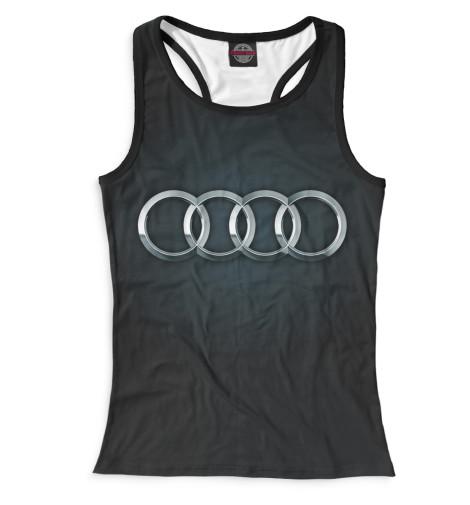 Женская майка-борцовка Audi