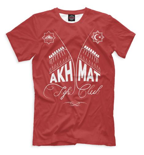 Футболка Print Bar Akhmat - Fight Club майка классическая printio fight club