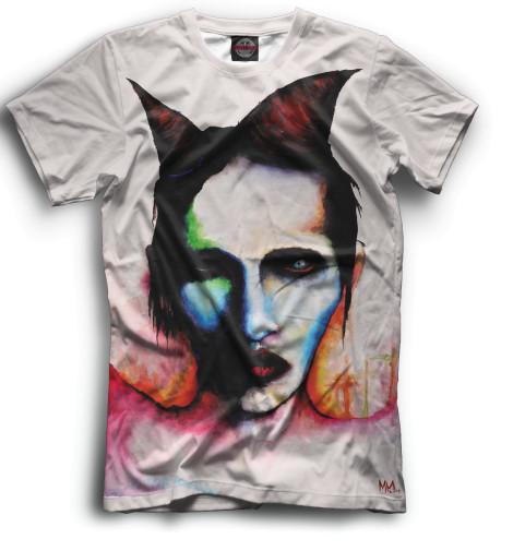 Мужская футболка Mаrilyn Manson