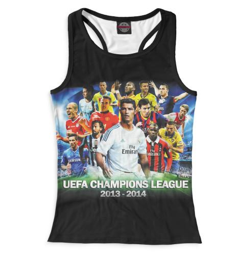 Женская майка-борцовка UEFA Champions League
