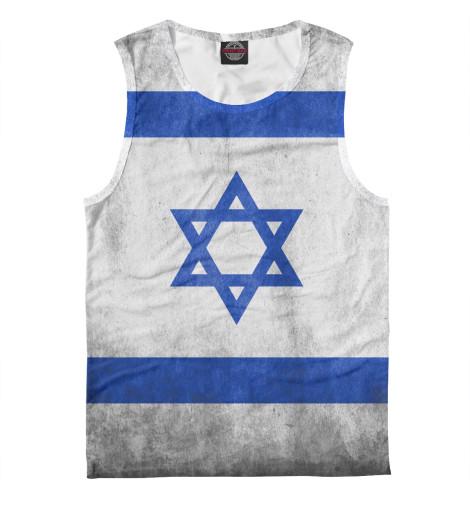 Майка Print Bar Флаг Израиля флаг пограничных войск россии великий новгород