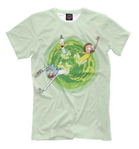 Купить Мужская футболка Рик и Морти RNM-639599-fut-2
