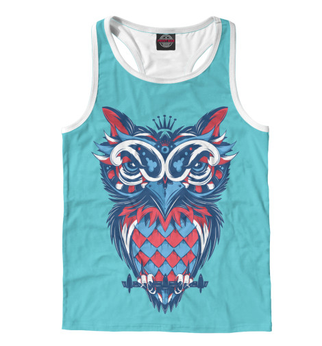 Майка борцовка Print Bar Owl Art футболка print bar dark owl