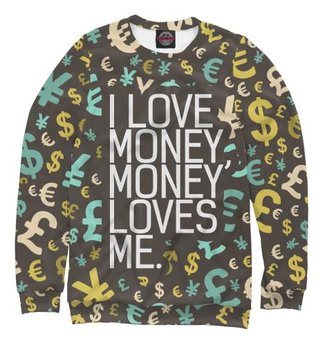 Свитшот Print Bar I love money rowena akinyemi love or money