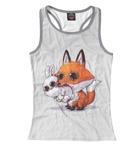Купить Майка для девочки Лиса и кролик FOX-911387-mayb-1