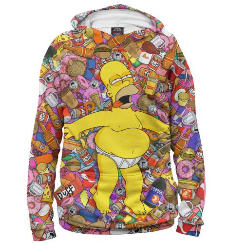 Мужское худи Гомер