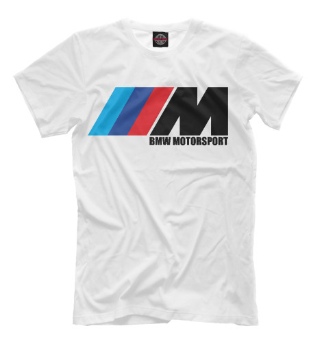Футболка Print Bar BMW Motorsport худи print bar bmw motorsport