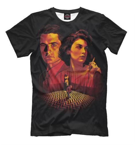 Футболка Print Bar Twin Peaks виниловая пластинка сборник twin peaks limited event series soundtrack score