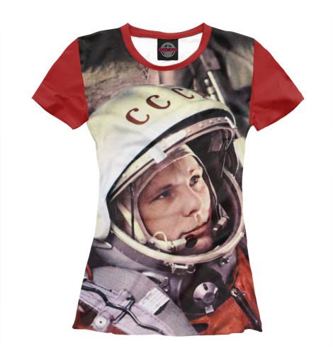 Купить Женская футболка Гагарин ZNR-732061-fut-1