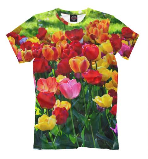 Футболка Print Bar Тюльпаны футболка print bar красные тюльпаны
