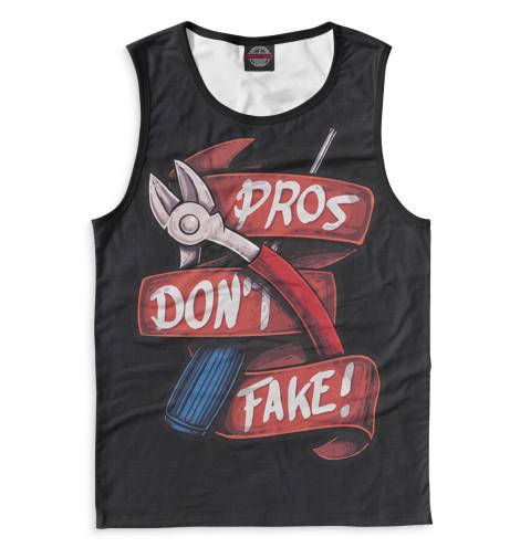 Мужская майка Pros Don't Fake