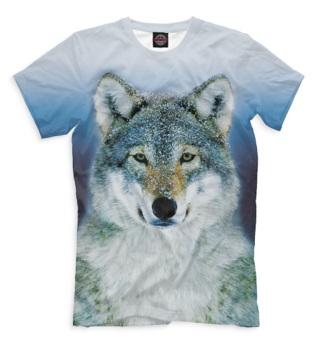 Купить Мужская футболка Волк VLF-507148-fut-2