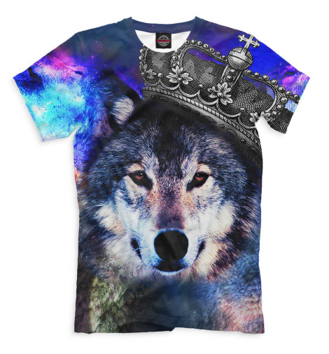 Купить Мужская футболка Волк VLF-815467-fut-2