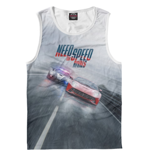 Майка Print Bar Need For Speed игра electronic arts need for speed deluxe bundle