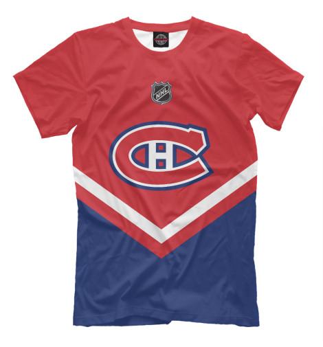 Футболка Print Bar Montreal Canadiens андре рьё montreal