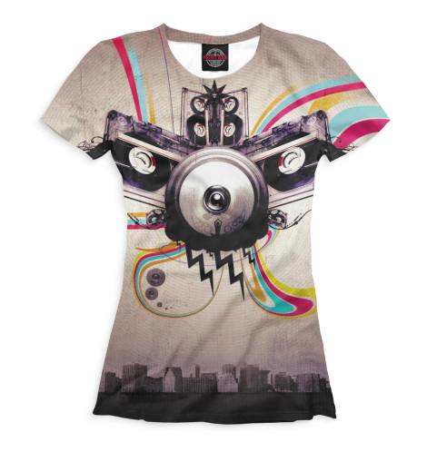Купить Женская футболка Trance MUS-843060-fut-1