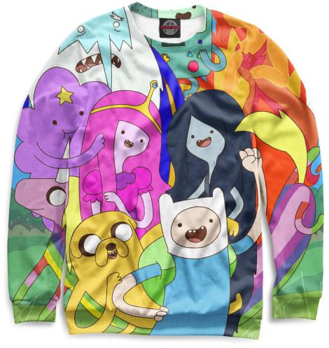 Купить Мужской свитшот Adventure Time ADV-529419-swi-2