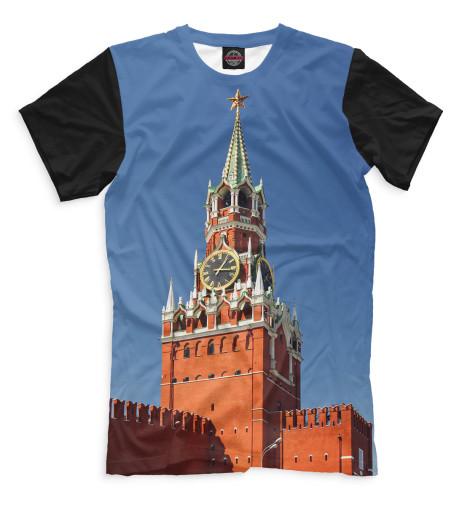 Футболка Print Bar Спасская башня 3d пазл для раскрашивания спасская башня 03084