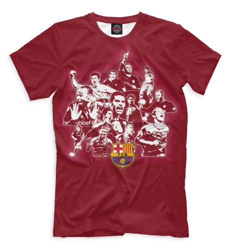 Мужская футболка Barcelona