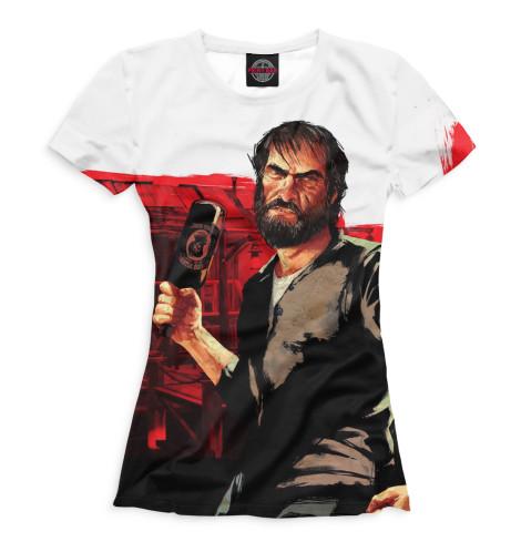 Женская футболка Red Dead Redemption