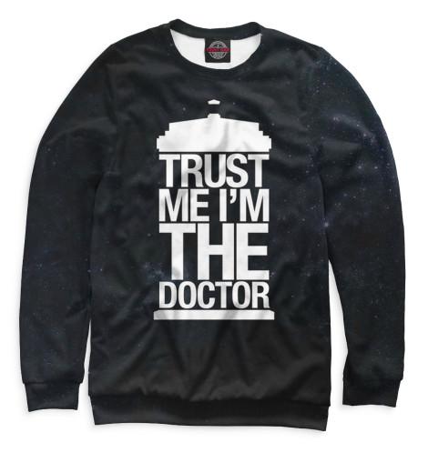 Свитшот Print Bar Доктор Кто футболка рингер printio доктор кто doctor who
