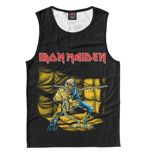 Майка Print Bar Iron Maiden Piece of Mind свитшот print bar iron maiden piece of mind