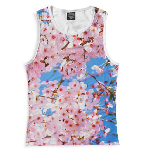 Купить Женская майка Цветы CVE-934410-may-1