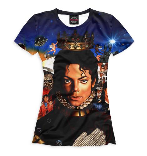 Женская футболка Michael Jackson