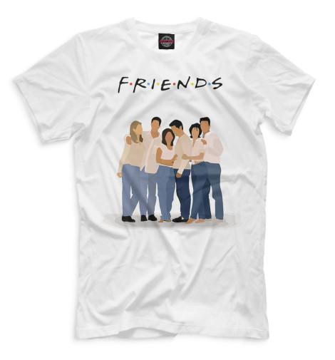 Мужская футболка Друзья