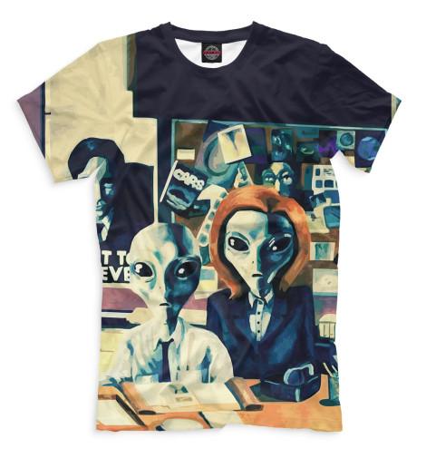 Мужская футболка Секретные материалы