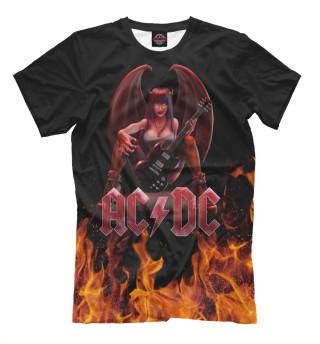 b8c62c6c28d12 Футболки AC/DC - купить футболки с принтом и надписью группы AC DC