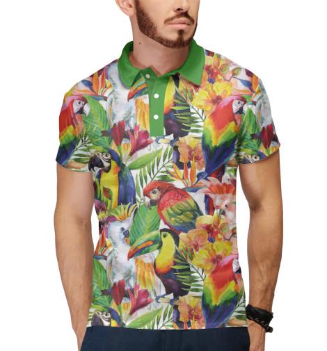 Поло Print Bar Попугаи шорты print bar попугаи