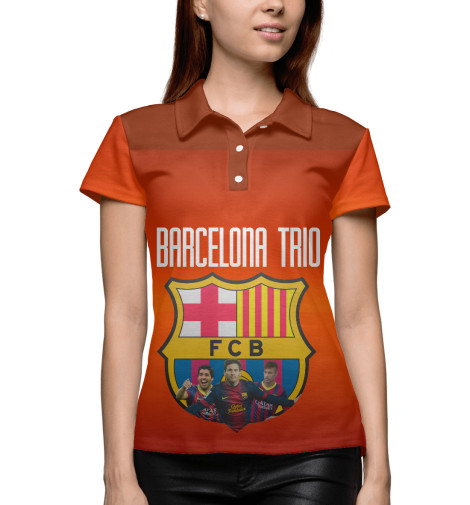 Поло Print Bar Barcelona trio поло print bar barcelona